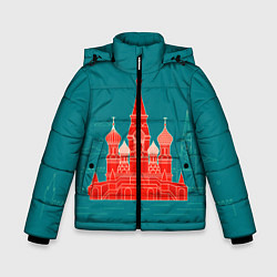 Куртка зимняя для мальчика Москва цвета 3D-черный — фото 1