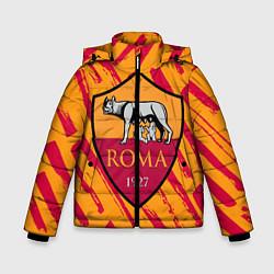 Куртка зимняя для мальчика ROMA цвета 3D-черный — фото 1