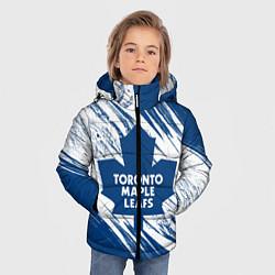 Куртка зимняя для мальчика Toronto Maple Leafs, цвета 3D-черный — фото 2
