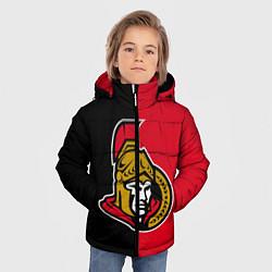Куртка зимняя для мальчика Ottawa Senators цвета 3D-черный — фото 2