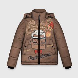 Куртка зимняя для мальчика Carl Fredricksen цвета 3D-черный — фото 1