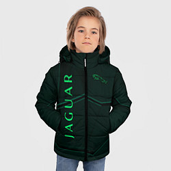 Куртка зимняя для мальчика Jaguar Мята Style цвета 3D-черный — фото 2