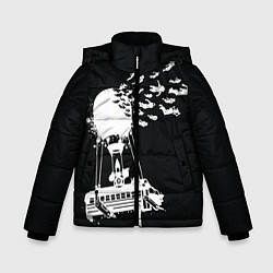 Куртка зимняя для мальчика FORTNITE цвета 3D-черный — фото 1