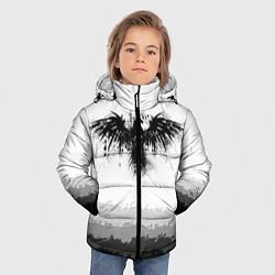 Куртка зимняя для мальчика ЧЁРНЫЙ ВОРОН цвета 3D-черный — фото 2
