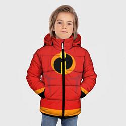 Куртка зимняя для мальчика Суперсемейка м цвета 3D-черный — фото 2