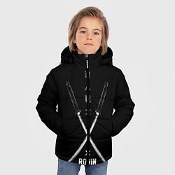 Куртка зимняя для мальчика Ronin цвета 3D-черный — фото 2