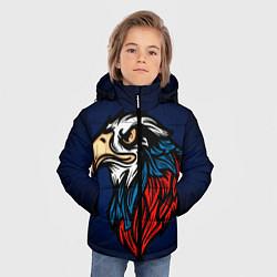 Куртка зимняя для мальчика Зоркий глаз цвета 3D-черный — фото 2