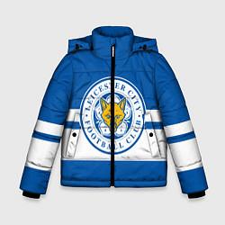 Куртка зимняя для мальчика LEICESTER CITY цвета 3D-черный — фото 1