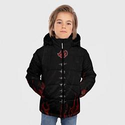 Куртка зимняя для мальчика Акацуки цвета 3D-черный — фото 2