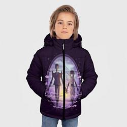 Куртка зимняя для мальчика Dont Starve цвета 3D-черный — фото 2