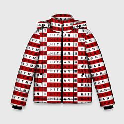 Куртка зимняя для мальчика Hitman 3 цвета 3D-черный — фото 1