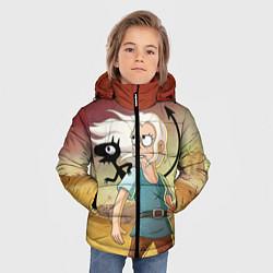 Куртка зимняя для мальчика Разочарование цвета 3D-черный — фото 2