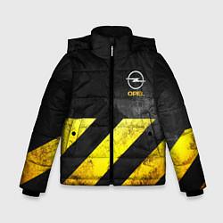 Куртка зимняя для мальчика OPEL S цвета 3D-черный — фото 1
