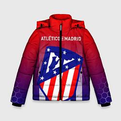 Куртка зимняя для мальчика ATLETICO DE MADRID АТЛЕТИКО цвета 3D-черный — фото 1