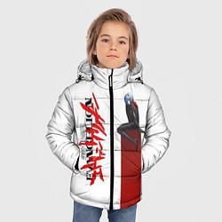 Куртка зимняя для мальчика EVANGELION ПИЛОТ EVA цвета 3D-черный — фото 2