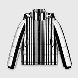 Куртка зимняя для мальчика Эффект Доплера костюм Шелдона цвета 3D-черный — фото 1