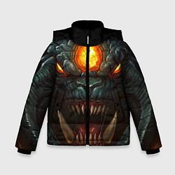 Детская зимняя куртка для мальчика с принтом Roshan Rage, цвет: 3D-черный, артикул: 10064261006063 — фото 1