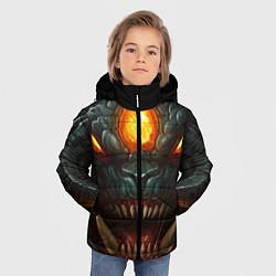 Куртка зимняя для мальчика Roshan Rage цвета 3D-черный — фото 2