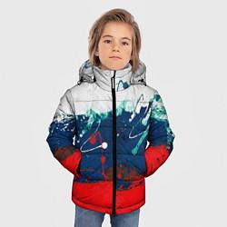 Куртка зимняя для мальчика Триколор РФ - фото 2