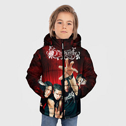 Куртка зимняя для мальчика Bullet for my valentine цвета 3D-черный — фото 2