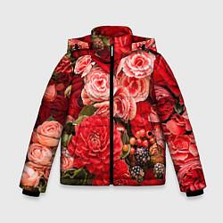 Куртка зимняя для мальчика Ассорти из цветов цвета 3D-черный — фото 1