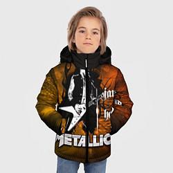 Куртка зимняя для мальчика Metallica: James Hetfield - фото 2