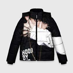 Куртка зимняя для мальчика BTS: Hood by air цвета 3D-черный — фото 1