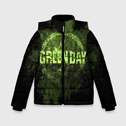 Куртка зимняя для мальчика Green Day: Acid Voltage цвета 3D-черный — фото 1