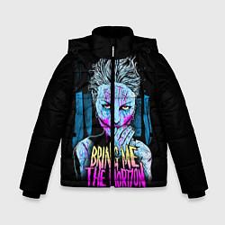 Куртка зимняя для мальчика BMTH: Acid Girl цвета 3D-черный — фото 1
