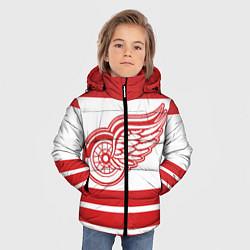 Куртка зимняя для мальчика Detroit Red Wings цвета 3D-черный — фото 2