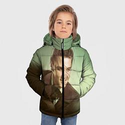 Куртка зимняя для мальчика Elvis Young цвета 3D-черный — фото 2