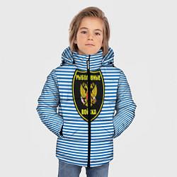 Куртка зимняя для мальчика Рыболовные войска цвета 3D-черный — фото 2