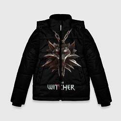 Детская зимняя куртка для мальчика с принтом The Witcher, цвет: 3D-черный, артикул: 10084813706063 — фото 1