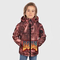 Куртка зимняя для мальчика DOOM Classic цвета 3D-черный — фото 2