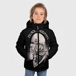 Куртка зимняя для мальчика Black Sabbath: Acid Cosmic цвета 3D-черный — фото 2