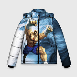 Куртка зимняя для мальчика Muay Thai Rage цвета 3D-черный — фото 1