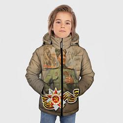Куртка зимняя для мальчика Дошли цвета 3D-черный — фото 2