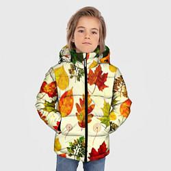 Куртка зимняя для мальчика Осень цвета 3D-черный — фото 2