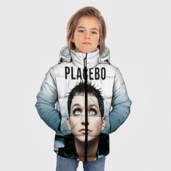 Куртка зимняя для мальчика Placebo: Brian Molko цвета 3D-черный — фото 2