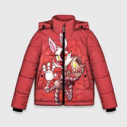 Детская зимняя куртка для мальчика с принтом Death Mangle, цвет: 3D-черный, артикул: 10093560506063 — фото 1