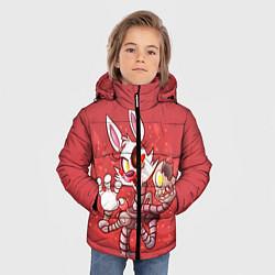 Куртка зимняя для мальчика Death Mangle цвета 3D-черный — фото 2