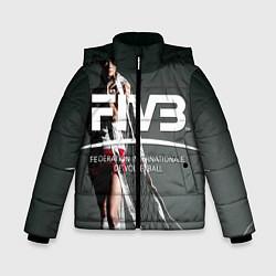 Куртка зимняя для мальчика Волейбол 80 цвета 3D-черный — фото 1