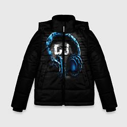 Куртка зимняя для мальчика DJ цвета 3D-черный — фото 1