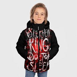 Куртка зимняя для мальчика Doctor Sleep цвета 3D-черный — фото 2