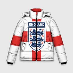 Куртка зимняя для мальчика Сборная Англии цвета 3D-черный — фото 1