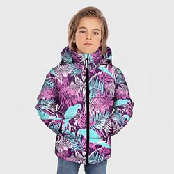 Куртка зимняя для мальчика Summer paradise цвета 3D-черный — фото 2