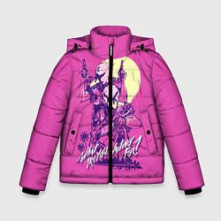 Куртка зимняя для мальчика What are you waiting for? цвета 3D-черный — фото 1