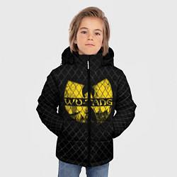 Куртка зимняя для мальчика Wu-Tang Clan: Grid цвета 3D-черный — фото 2