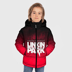 Куртка зимняя для мальчика Linkin Park: Minutes to midnight цвета 3D-черный — фото 2
