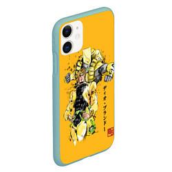 Чехол для iPhone 11 матовый с принтом JoJo Bizarre Adventure, цвет: 3D-мятный, артикул: 10200074505889 — фото 2